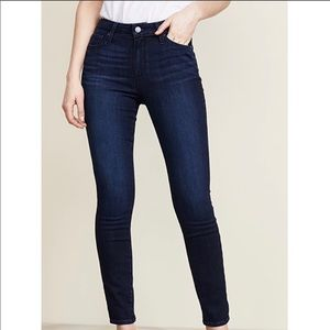 Paige High Rise Hoxton Ankle Skinny Jeans 32